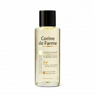 Corine De Farme bain huile dissolvante naturelle flacon verre 100ml