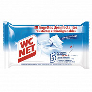 Wc net lingettes desinfectantes x30