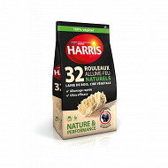 Harris allume feu naturel 32 rouleaux