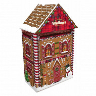 Walkers gingerbread house tin 200g