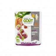 Good gout recette navet carottes veau masterchef bio 12 mois 220g