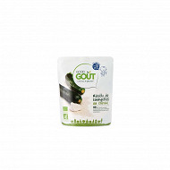 Good gout risotto courgettes chèvre 220g