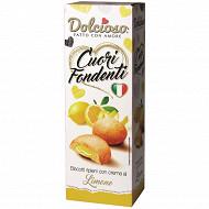 Dolcioso cuori fondenti citron 150g