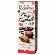 Dolcioso cuori fondenti cacao 150g