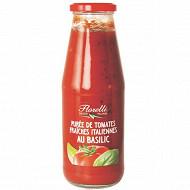 Florelli purée de tomates italiennes au basilic 700g