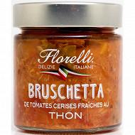 Florelli bruschetta de tomates cerises et thon 190g