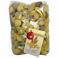 Artesani pâtes conghiglie 5 couleurs 500g