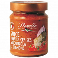 Florelli sauce aux tomates cerises gorgonzola et oignons 250g