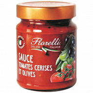 Florelli sauce tomate aux olives 250g