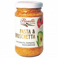 Floressil pasta & bruschetta artichauts tomates mascarpone 190g