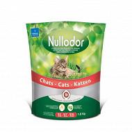 Litière nullodor chat 100% biocompatible 1.5kg