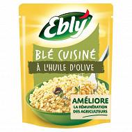 Ebly blé micro-ondable nature à l'huile d'olive 2 minutes 220g