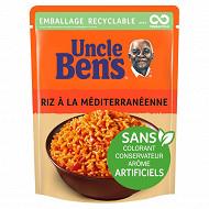 Uncle Bens riz micro ondable meditérranéen 2mn 250g
