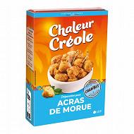 Chaleur Créole 10 préparations pour pâte à acras de morue 100g