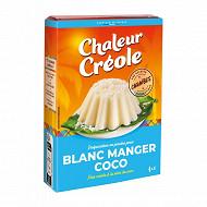 Chaleur Créole blanc manger coco sachet 85g