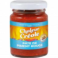 Chaleur Créole pâte de piment rouge 100g