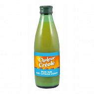 Chaleur Créole jus de citron vert 25cl