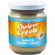 Chaleur Créole sauce curry coco 200g