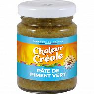 Chaleur Créole pâte de piment vert 100g