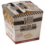 Popcorn box sucré classic food