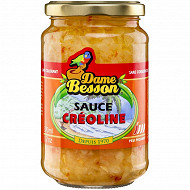 Dame besson sauce créoline 370g