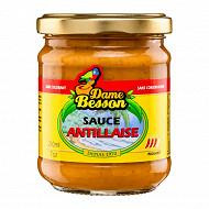Dame besson sauce antillaise 210ml