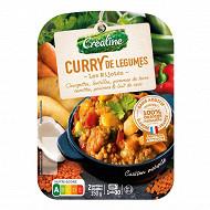 Créaline curry de légumes 2x175g
