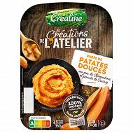 Créaline purée de patates douces jus de clémentine 2x180g