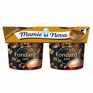 Mamie Nova dessert lacte au café 2x150g