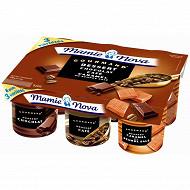 Mamie Nova lot gourmand dessert 6x150g