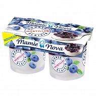 Mamie Nova double plaisir myrtilles 2x140g