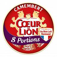 Coeur de Lion camembert 8 portions 240g