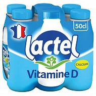 Lactel lait demi-écrémé 6x50cl