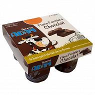 Ferme Adam flans chocolat  4x125g