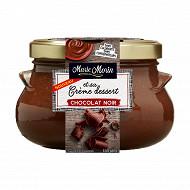 Marie Morin crème dessert chocolat noir 500g