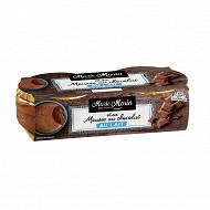 Marie Morin mousse au chocolat au lait 2x100g
