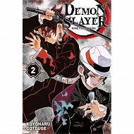 Manga - Demon Slayer : Kimetsu no yaiba, volume 2