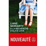 Liane Moriarty A la recherche d'alice love