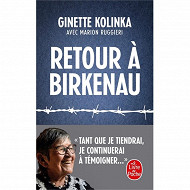 Ginette Kolinka Marion Ruggieri - Retour a birkenau