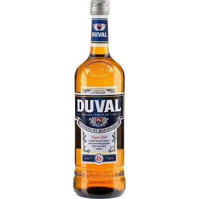 Duval Duval pastis de Marseille 1L 45%vol