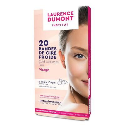 Laurence Dumont Laurence Dumont bandelettes de cire visage x20 + flaconnette d'azulène offerte