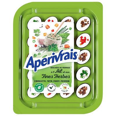 Apérivrais Apérivrais ail et fines herbes 31%mg 100g