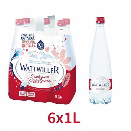 Wattwiller fortement pétillante 6x1l