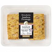 Briochettes jambon fromage x2  200g