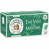 Les 2 Marmottes thé vert menthe 45g