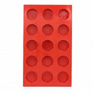 Moule 15 demi spheres 29.5X17X2 en silicone