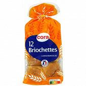 Cora 12 briochettes 480g