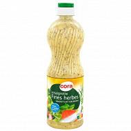 Cora vinaigrette fines herbes allégée en matières grasses 50cl