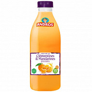 Andros jus clémentine mandarine pet 75cl