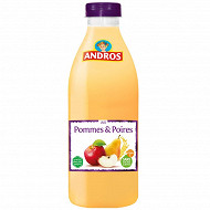 Andros jus pommes poires pet 75cl